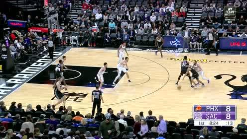2019年12月29日NBA常规赛 太阳VS国王 全场录像回放视频