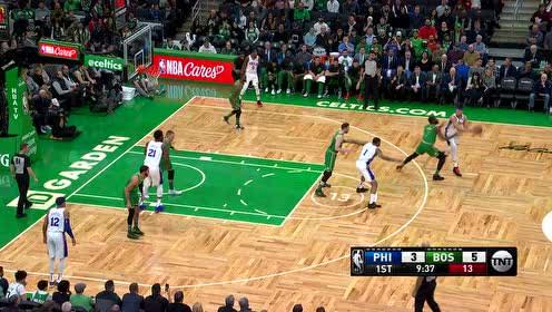 2019年12月13日NBA常规赛 76人VS凯尔特人 全场录像回放视频