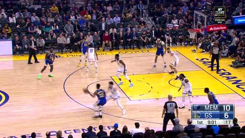 2019年12月10日NBA常规赛 灰熊VS勇士 全场录像回放视频