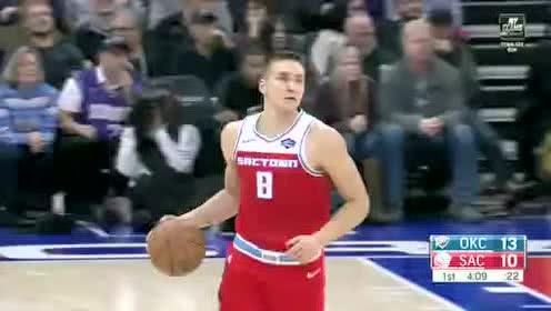 2019年12月12日NBA常规赛 雷霆VS国王 全场录像回放视频