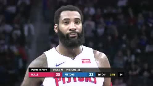 2019年12月22日NBA常规赛 公牛VS活塞 全场录像回放视频
