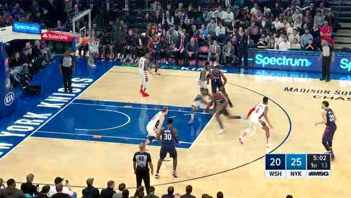 2019年12月24日NBA常规赛 奇才VS尼克斯 全场录像回放视频