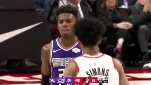 2019年12月05日NBA常规赛 国王VS开拓者 全场录像回放视频