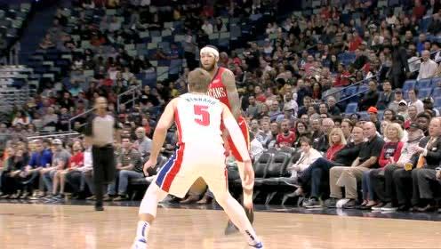 2019年12月10日NBA常规赛 活塞VS鹈鹕 全场录像回放视频
