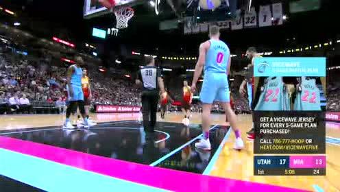 2019年12月24日NBA常规赛 爵士VS热火 全场录像回放视频