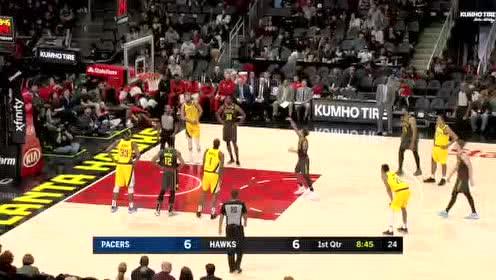 2019年12月14日NBA常规赛 步行者VS老鹰 全场录像回放视频