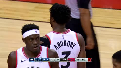 2019年12月02日NBA常规赛 爵士VS猛龙 全场录像回放视频