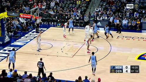 2019年12月29日NBA常规赛 灰熊VS掘金 全场录像回放视频