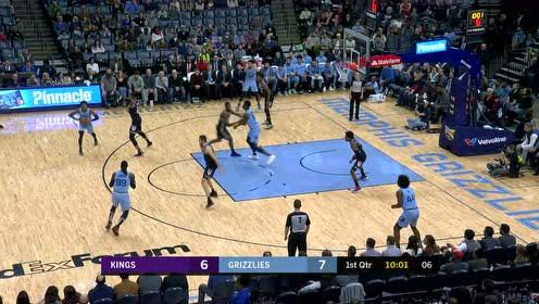 2019年12月22日NBA常规赛 国王VS灰熊 全场录像回放视频