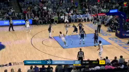 2020年01月08日NBA常规赛 森林狼VS灰熊 全场录像回放视频