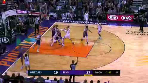 2020年01月06日NBA常规赛 灰熊VS太阳 全场录像回放视频
