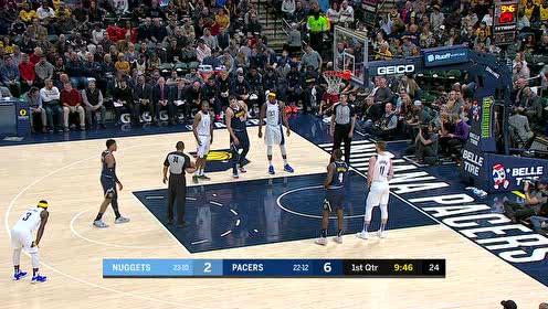 2020年01月03日NBA常规赛 掘金VS步行者 全场录像回放视频