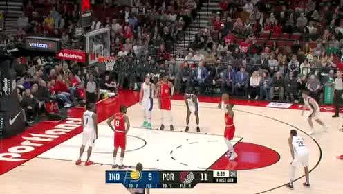 2020年01月27日NBA常规赛 步行者VS开拓者 全场录像回放视频