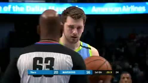 2020年01月12日NBA常规赛 76人VS独行侠 全场录像回放视频