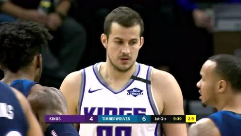 2020年01月28日NBA常规赛 国王VS森林狼 全场录像回放视频
