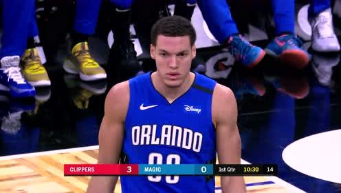 2020年01月27日NBA常规赛 快船VS魔术 全场录像回放视频