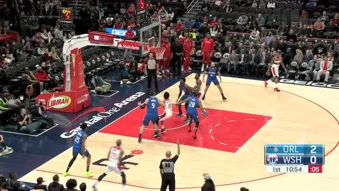 2020年01月02日NBA常规赛 魔术VS奇才 全场录像回放视频