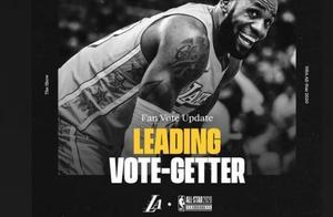 詹姆斯再次当选票王,老骥伏枥志在千里,NBA联盟第一人