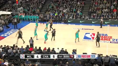 2020年01月25日NBA常规赛 雄鹿VS黄蜂 全场录像回放视频