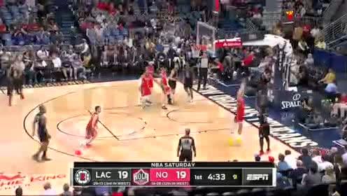 2020年01月19日NBA常规赛 快船VS鹈鹕 全场录像回放视频
