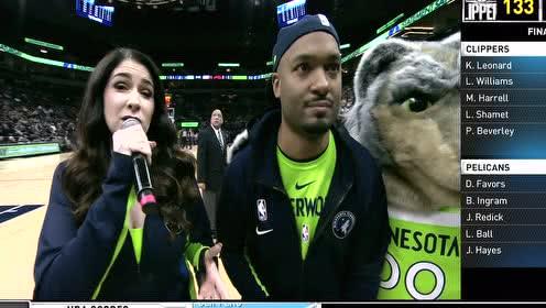 2020年01月19日NBA常规赛 猛龙VS森林狼 全场录像回放视频