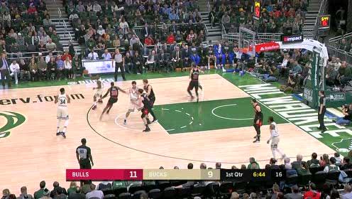 2020年01月21日NBA常规赛 公牛VS雄鹿 全场录像回放视频