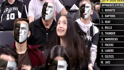 2020年01月03日NBA常规赛 雷霆VS马刺 全场录像回放视频