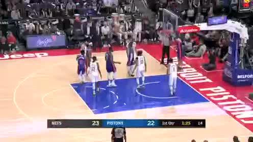 2020年01月26日NBA常规赛 篮网VS活塞 全场录像回放视频