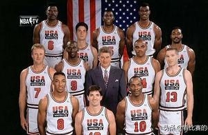 都知道梦一队有11个名人堂和1个大学生,这个大学生后来进NBA了吗