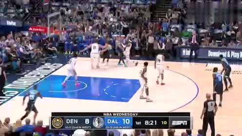 2020年01月09日NBA常规赛 掘金VS独行侠 全场录像回放视频