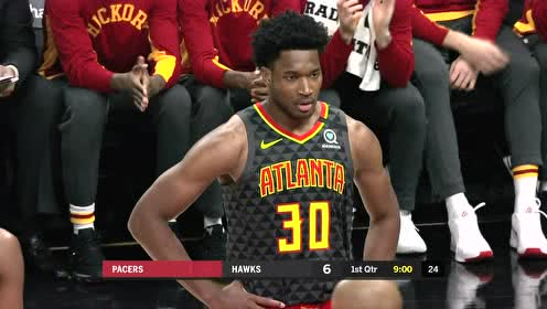 2020年01月05日NBA常规赛 步行者VS老鹰 全场录像回放视频