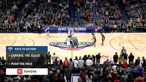 2020年01月25日NBA常规赛 掘金VS鹈鹕 全场录像回放视频