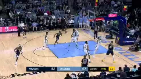 2020年01月29日NBA常规赛 掘金VS灰熊 全场录像回放视频