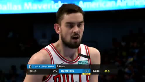 2020年01月07日NBA常规赛 公牛VS独行侠 全场录像回放视频