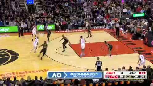 2020年01月18日NBA常规赛 奇才VS猛龙 全场录像回放视频