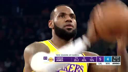 2020年01月23日NBA常规赛 湖人VS尼克斯 全场录像回放视频