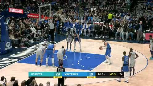 2020年01月05日NBA常规赛 黄蜂VS独行侠 全场录像回放视频