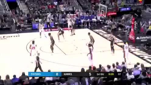 2020年01月19日NBA常规赛 活塞VS老鹰 全场录像回放视频