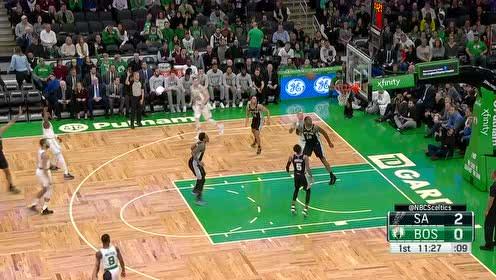 2020年01月09日NBA常规赛 马刺VS凯尔特人 全场录像回放视频