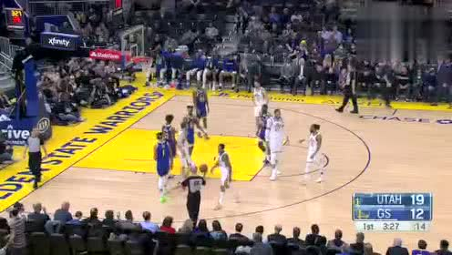 2020年01月23日NBA常规赛 爵士VS勇士 全场录像回放视频