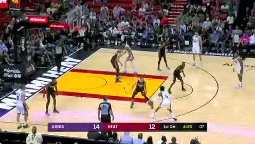 2020年01月21日NBA常规赛 国王VS热火 全场录像回放视频