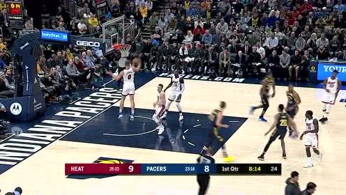 2020年01月09日NBA常规赛 热火VS步行者 全场录像回放视频