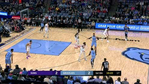 2020年01月27日NBA常规赛 太阳VS灰熊 全场录像回放视频