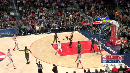 2020年01月11日NBA常规赛 老鹰VS奇才 全场录像回放视频