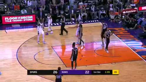 2020年01月21日NBA常规赛 马刺VS太阳 全场录像回放视频