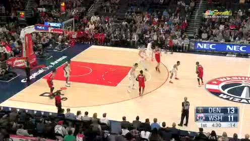 2020年01月05日NBA常规赛 掘金VS奇才 全场录像回放视频