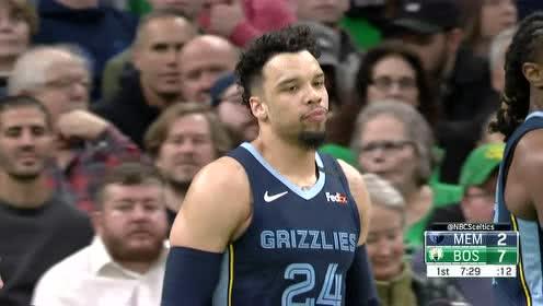 2020年01月23日NBA常规赛 灰熊VS凯尔特人 全场录像回放视频