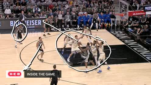 2020年01月07日NBA常规赛 雄鹿VS马刺 全场录像回放视频