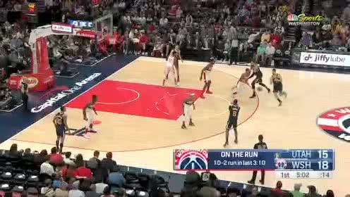 2020年01月13日NBA常规赛 爵士VS奇才 全场录像回放视频