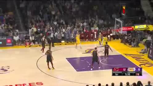 2020年01月14日NBA常规赛 骑士VS湖人 全场录像回放视频